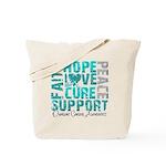 Hope Ovarian Cancer Tote Bag