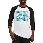 Hope Ovarian Cancer Baseball Jersey