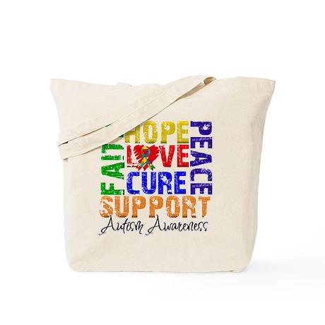 Hope Autism Tote Bag