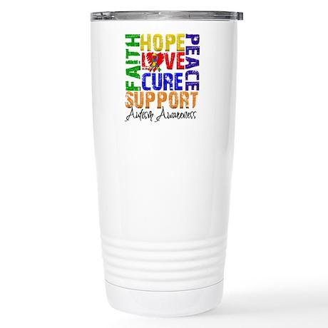 Hope Autism Stainless Steel Travel Mug