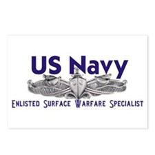 Unique Us navy ship Postcards (Package of 8)