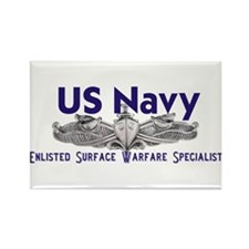 Unique Usn Rectangle Magnet