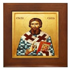 Sv. Sava Framed Tile