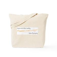Believe in Kayaking 2 Tote Bag