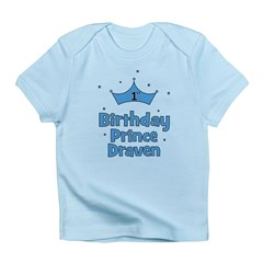 1st Birthday Prince DRAVEN! Infant T-Shirt