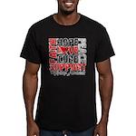 Hope Melanoma Men's Fitted T-Shirt (dark)