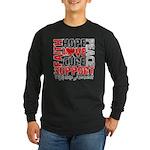 Hope Melanoma Long Sleeve Dark T-Shirt
