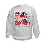 Hope Melanoma Kids Sweatshirt