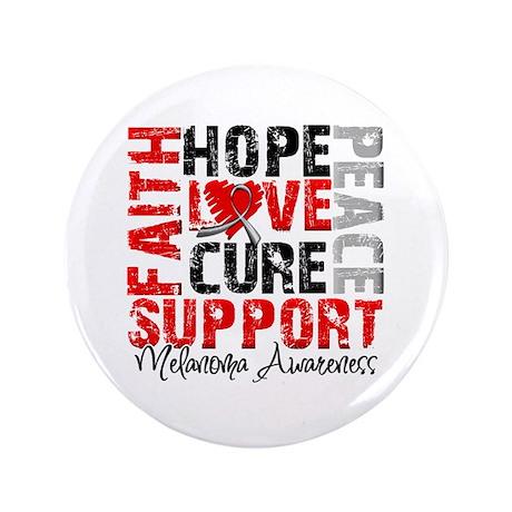 """Hope Melanoma 3.5"""" Button"""