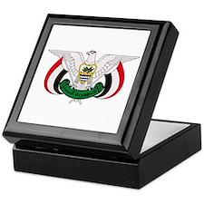 Yemen Coat of Arms Keepsake Box
