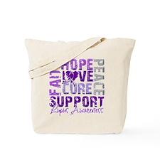 Hope Cure Lupus Tote Bag