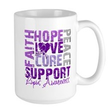 Hope Cure Lupus Mug