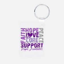 Hope Cure Lupus Keychains