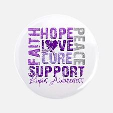 "Hope Cure Lupus 3.5"" Button"