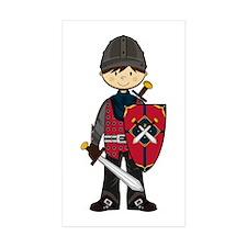 Cute Medieval Knight Sticker (10 Pk)