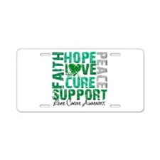 Hope Liver Cancer Aluminum License Plate