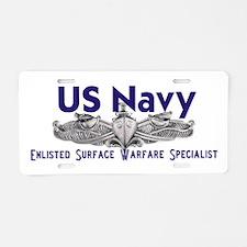ESWS Aluminum License Plate