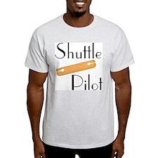 Shuttle Pilot Ash Grey T-Shirt