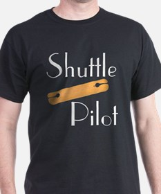 Shuttle Pilot Black T-Shirt