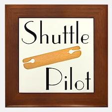 Shuttle Pilot Framed Tile