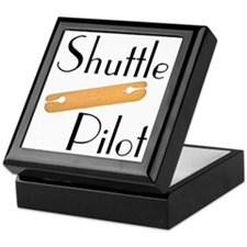 Shuttle Pilot Keepsake Box