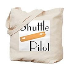 Shuttle Pilot Tote Bag