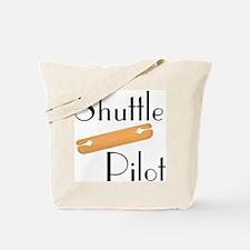 Shuttle Pilot Tote Bag