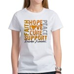 Hope Leukemia Women's T-Shirt