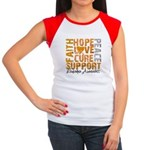 Hope Leukemia Women's Cap Sleeve T-Shirt