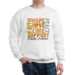 Hope Leukemia Sweatshirt