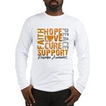 Hope Leukemia Long Sleeve T-Shirt