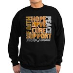 Hope Leukemia Sweatshirt (dark)