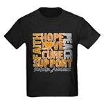 Hope Leukemia Kids Dark T-Shirt