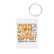 Hope Kidney Cancer Keychains