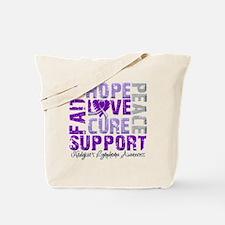 Hope Hodgkin's Disease Tote Bag