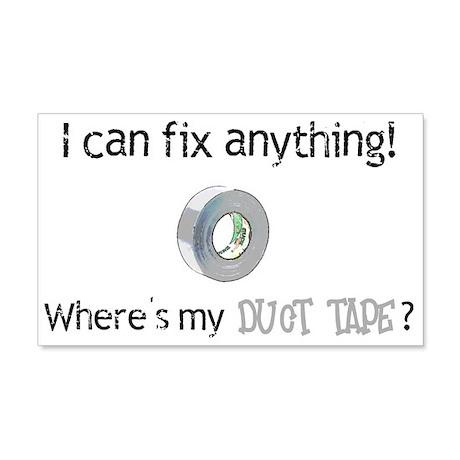 Duct Tape 22x14 Wall Peel