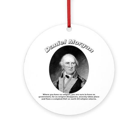 Daniel Morgan 01 Ornament (Round)