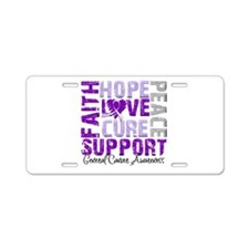Hope General Cancer Aluminum License Plate