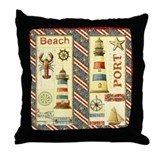 Coastal Throw Pillows