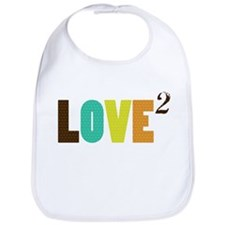 Love (squared) Bib
