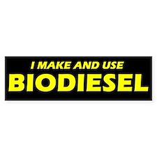I Make And Use Biodiesel