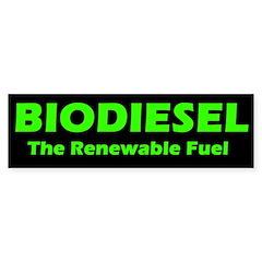 BIODIESEL The Renewable Fuel (green)
