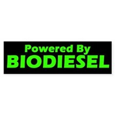 Powered By BIODIESEL (Green)