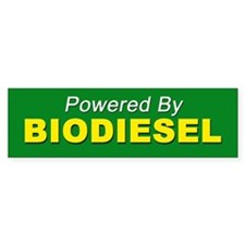 Powered By BIODIESEL (yellow green)