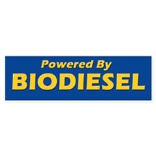 Powered By BIODIESEL (yellow blue)