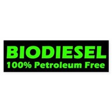 BIODIESEL 100% Petroleum Free (Green)