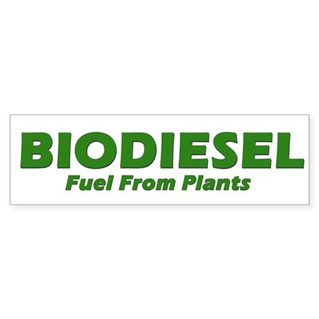 BIODIESEL Fuel From Plants (Green)