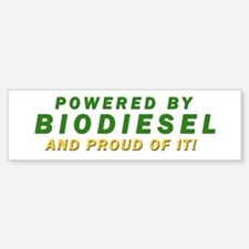 Powered By BIODIESEL proud of it