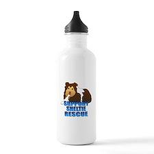 Support Sheltie Rescue Water Bottle