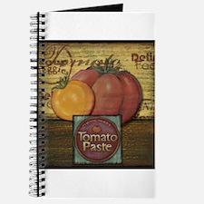 Vintage fruit labels Journal